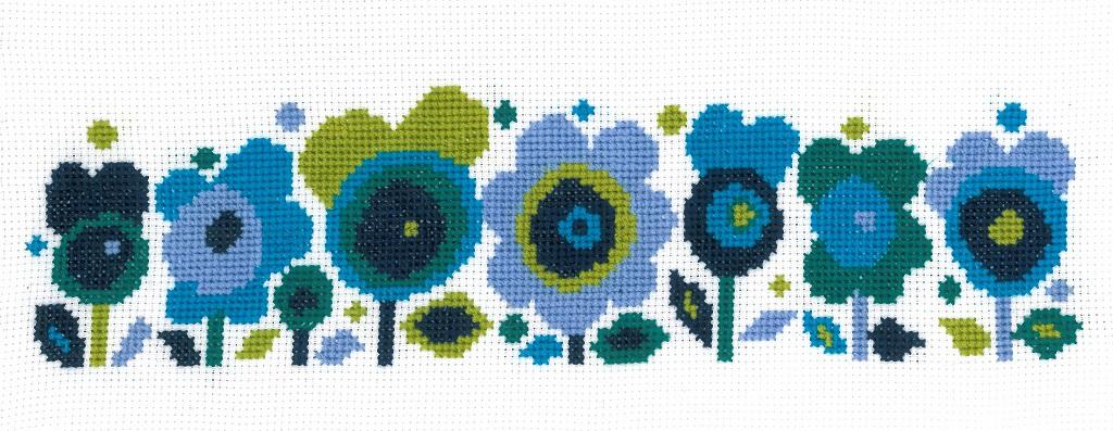Flower Power Cross Stitch