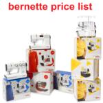 bernette price list