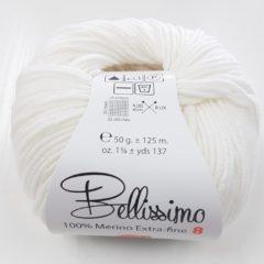 Bellissimo 8ply 234 White